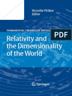 Vesselin Petkov Relativity and the Dimensionality of the World