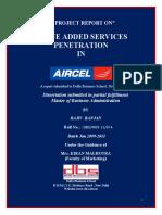 Rajiv Ranjan Aircel Vas Report.
