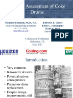 Bulging Assessment of Coke Drums Samman Tinoco Houston Engineering Solutions BR DCU Galveston 2013