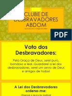 Clube de Desbravadores Abdom