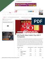 DQ Top20_ Meet India's Top 100 IT CompaniesDATAQUEST