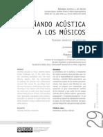 Acustica Para Musicos