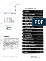 Kobelco LK400 Engine Service Manual