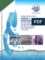 Norma Diseño y Construcción Acueductos y Alcantarillados