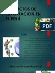 Productos de Exportacion en El Perú