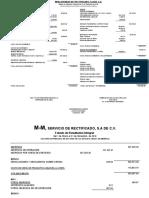 Estados Financieros M-m Al 31 de Diciembre de 2016 Provisional