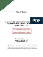 Nichols Public Report