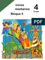 4to Grado - Bloque 3 - Ejercicios Complementarios