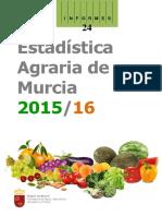 136115-Estadística Agraria de Murcia 2015-2016