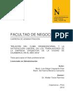 Co y Sl en Divermotor 2014 Cajamarca Upn