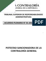 Anibal Quiroga León Potestad Sancionadora de La Contraloría General