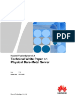 Huawei FusionSphere 5.1 Technical White Paper on Physical Bare-Metal Server (Cloud Date Center)