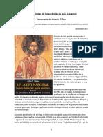 Piñero Antonio - 2017 - Meier_La Autenticidad de Las Parábolas de Jesús a Examen_Comentario