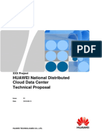 HUAWEI National Distributed Cloud Data Center Technical Proposal Template20151120