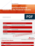 Huawei FusionCloud Desktop Solution Overview Presentation (for Financial)