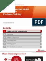 Huawei OceanStor N8500 Clustered NAS V200R002C00 Pre-Sales Training
