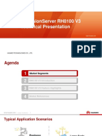 Huawei FusionServer RH8100 V3 Technical Presentation
