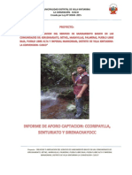 Informe Aforo 7 Comunidades