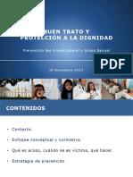 Buen Trato y Proteccion a La Dignidad 18.11.14