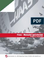 Freza manualul operatorului