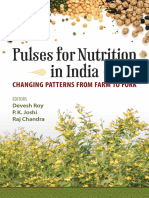 Pulses for nutrition in India