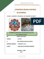Analisis de Sistemas Mineros