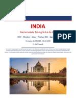 INDIA-Triunghiul de Aur 15.04.2018