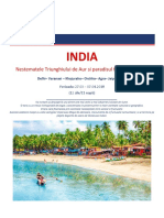 INDIA-Triunghiul de Aur&Goa 27.03.2018