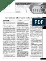 Asimetria Informacion Microcreditos