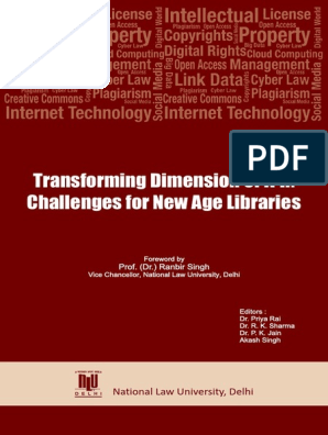 Transforming Dimension of IPR - Challenges for New Age