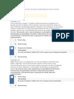 Apol 2 Gestão Da Qualidade (Ferramentas) ,Projeto e Desenvolvimento de Produto