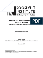 Inequality, Stagnation, and Market Power