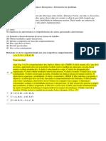 Apol 5- Estatística Aplicada-técnicas e Ferramentas Da Qualidade