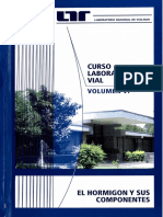 Curso Laboratorista Vial Volumen Vi