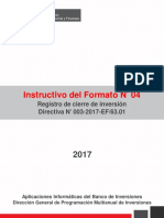 Instructivo Formato 4 Ejecucion