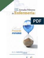 PROGRAMA VIII JORNADAS PALMERAS DE ENFERMERÍA
