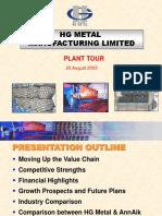 Presentation Plant Tour Final