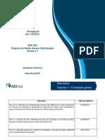 Divulgação 09-2013 NTD002 - Projetos de Rede Aérea - Versão 2.1
