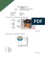 Soal Teori Kejuruan Paket a Utk Elektronika industri