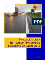 Evaluacion Estrategia SegVial 2005-2010