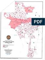 Los Angeles Fire Department's Very High Fire Hazard Serverity Zone map