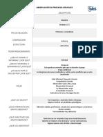 Ejemplo de llenado de análisis de grupos  estilo IVES