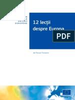 Economia Integrarii Europene Sintetizare - Pascal Fontain