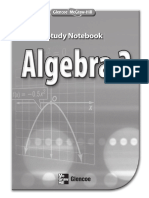 Algebra 2 - Study Notebook