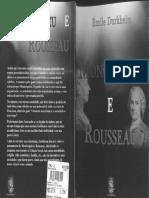 DURKHEIM Emile. Montesquieu e Rousseau Pioneiros Da Sociologia