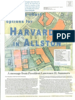 Planners Chart Ideas For Harvard In Allston - 2005