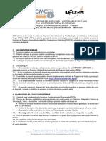 Edital Processo Seletivo Mestrado 2018