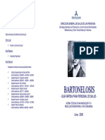 BARTONELOSIS MINSA RESUMEN