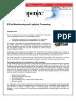 EDI in Warehousing Logistics Overview