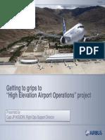 AIRLINER HIGH ALTITUDE OPERATION RISKS